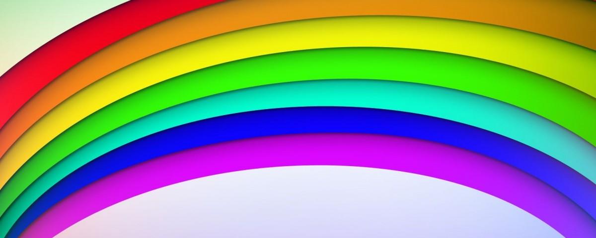 As sete cores do arco-íris